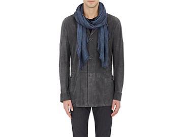 Loro Piana Men's Mlange Cashmere-silk Scarf