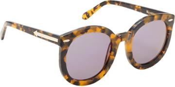 "Karen Walker ""super Duper Strength"" Sunglasses-colorless"