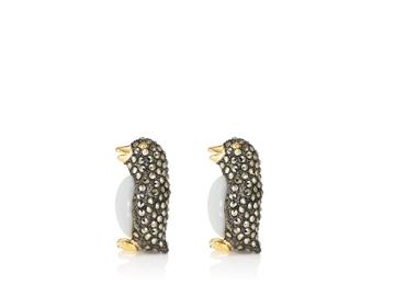 Jan Leslie Men's Mixed-gemstone Penguin Cufflinks
