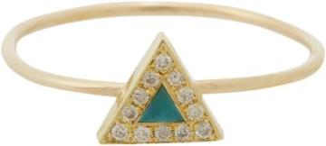Jennifer Meyer Women's Triangle Ring