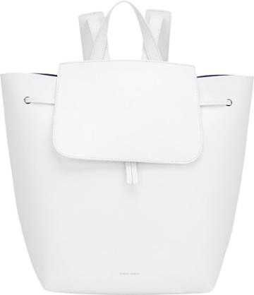 Mansur Gavriel Large Backpack-white