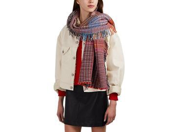 Wallace Sewell Women's Ladbroke Basket-weave Wool Wrap