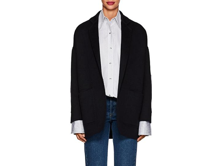Boon The Shop Women's Cashmere Melton Oversized Coat