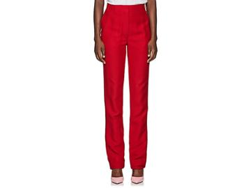 Valentino Women's Flared Silk-wool Pants
