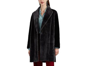 Boon The Shop Women's Reversible Shearling & Suede Patchwork Coat