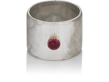Julie Wolfe Women's Ruby Ring