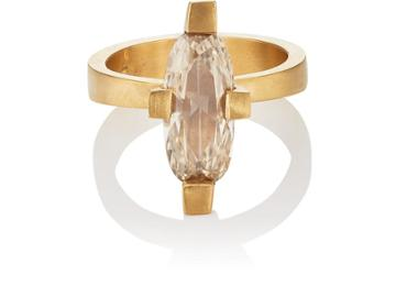 Eli Halili Women's Champagne-diamond Ring