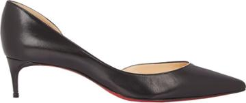 Christian Louboutin Women's Iriza Half D'orsay Pumps-black