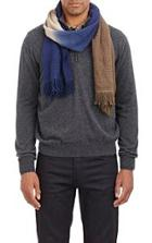 Colombo Dip-dyed Scarf-blue