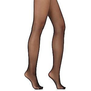 Wolford Women's Individual 10 Back Seam Tights-blk, Blk