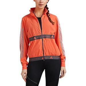 Adidas X Stella Mccartney Women's Mesh-inset Colorblocked Running Jacket - Orange