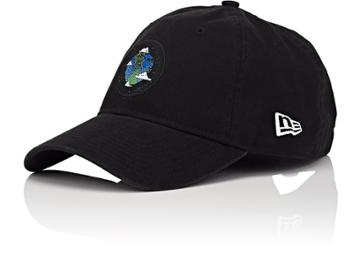Haas Brothers X New Era Men's Earth-motif Cotton Baseball Cap