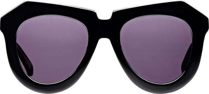 Karen Walker One Meadow Sunglasses-black
