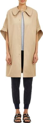 08sircus Short Sleeve Trench Coat-nude