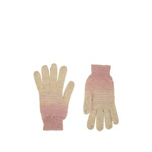 Missoni Women's Striped Knit Gloves - Pink