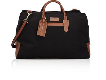 T. Anthony Men's Canvas & Leather Weekender Bag