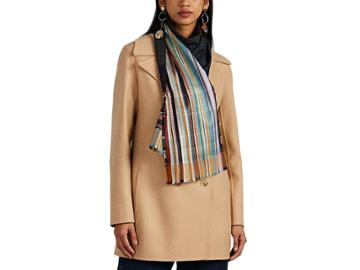 Wallace Sewell Women's Garrick Striped Silk-wool Scarf