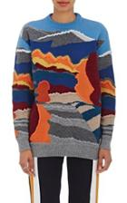 Stella Mccartney Women's Landscape Wool Sweater