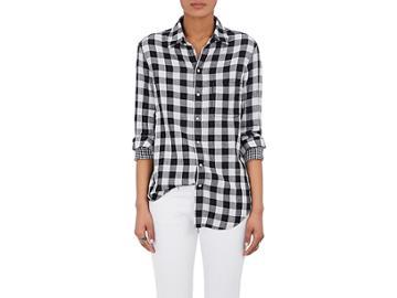 Rag & Bone Women's Checked Cotton Shirt