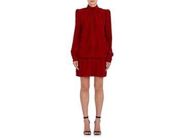 Marc Jacobs Women's Velvet Drop-waist Dress