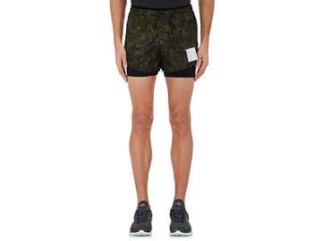Satisfy Men's Short Distance Camouflage Running Shorts