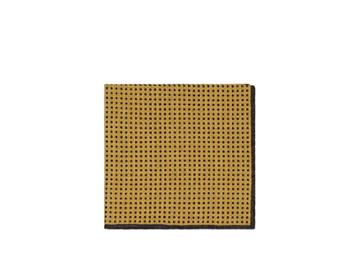 Eleventy Men's Dotted Wool-cotton Pocket Square