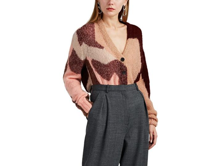 Boon The Shop Women's Colorblocked Mohair-blend Cardigan