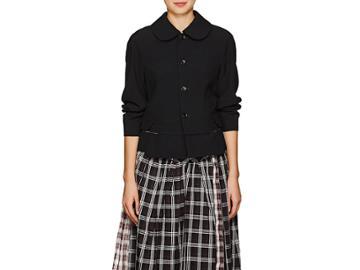 Comme Des Garons Women's Peter Pan-collar Wool Blazer