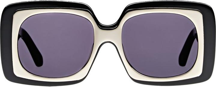 Karen Walker Hothouse Sunglasses-black
