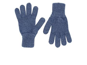 Drake's Men's Contrast-cuff Lambswool Gloves