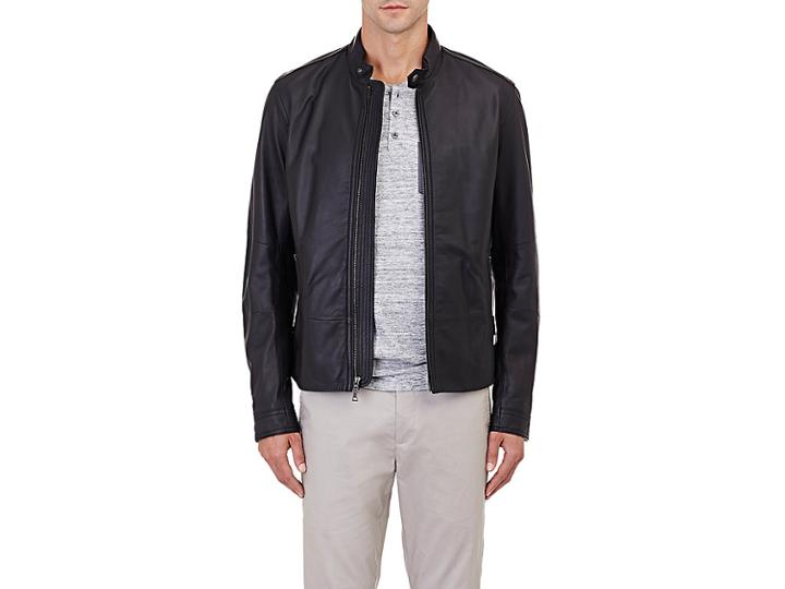 Vince. Men's Moto Jacket