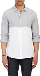 Vince. Colorblock Shirt-colorless