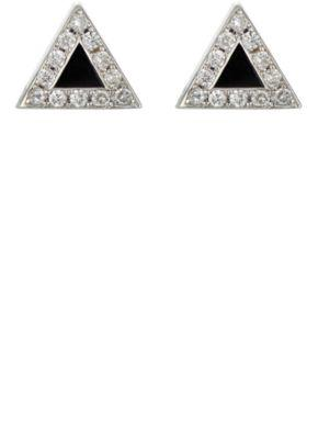 Jennifer Meyer Women's Triangle Studs
