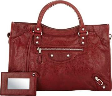 Balenciaga Women's Giant 12 City-burgundy