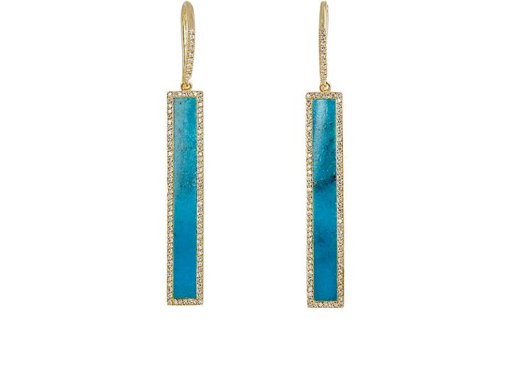 Jennifer Meyer Women's Rectangular-bar-drop Earrings