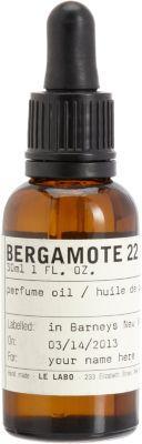 Le Labo Women's Bergamotte Perfume Oil