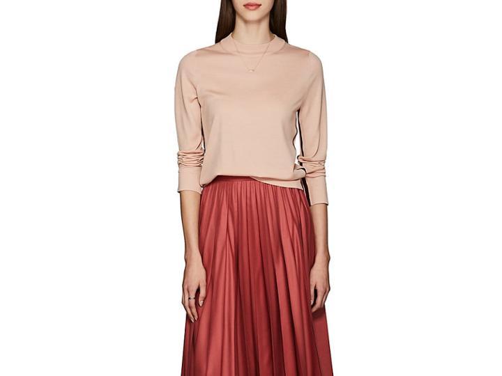 Boon The Shop Women's Wool Mock Turtleneck Sweater