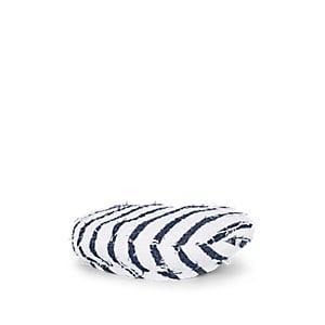 Eugenia Kim Women's Cher Striped Cotton-blend Tweed Beret - White