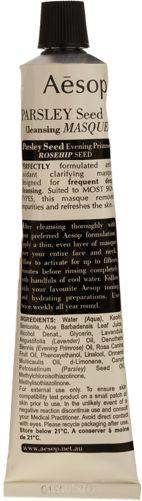 Aesop Parsley Seed Cleansing Masque-colorless