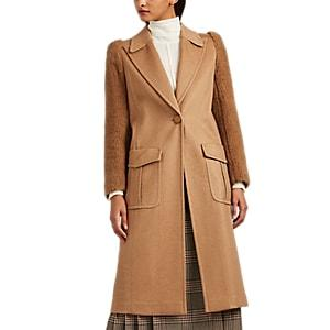 Fendi Women's Camel Hair Long Coat - Camel