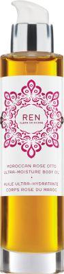 Ren Women's Moroccan Rose Otto Ultra Moisture Body Oil