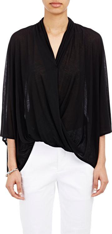 Helmut Lang Entity Top-black