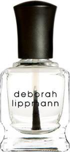 Deborah Lippmann Women's Hard Rock - Nail Strengthening Base & Top Coat