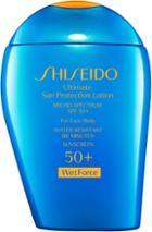 Shiseido Women's Ultimate Sun Protection Lotion Spf 50+ Wetforce