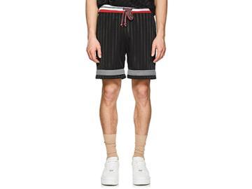 John Elliott Men's Striped Soccer Shorts