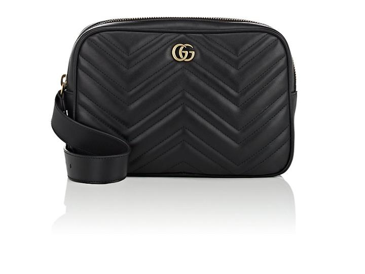 08486acb7118 Gucci Men's Marmont Leather Belt Bag | LookMazing