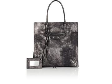 Balenciaga Women's Papier A4 Leather Mini Tote Bag
