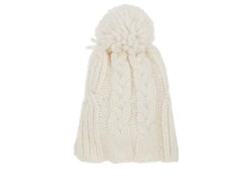 Barneys New York Men's Chunky Cable-knit Alpaca-blend Beanie