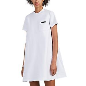 Prada Women's Cotton T-shirt Dress - White