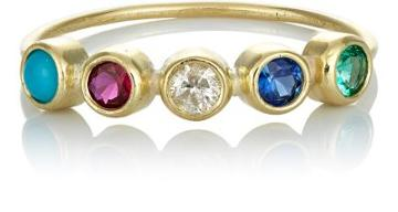 Jennifer Meyer Women's Bezel Ring